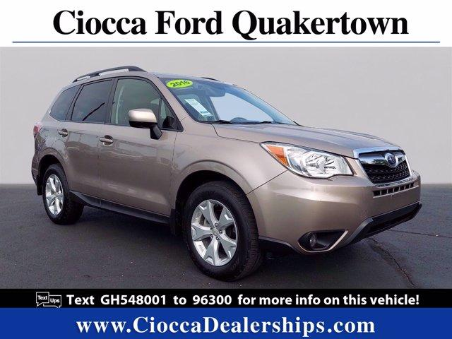 2016 Subaru Forester Vehicle Photo in Quakertown, PA 18951