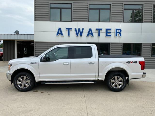 Used 2018 Ford F-150 Lariat with VIN 1FTEW1EP0JKF14744 for sale in Atwater, Minnesota