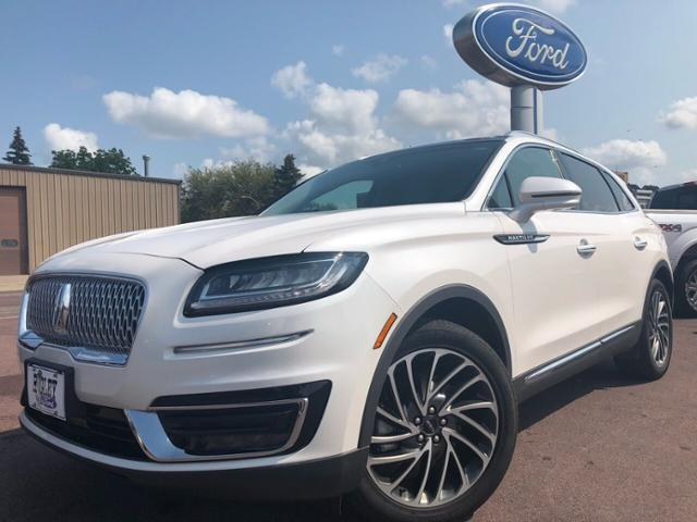 Used 2019 Lincoln Nautilus Reserve with VIN 2LMPJ8L99KBL51270 for sale in Windom, Minnesota