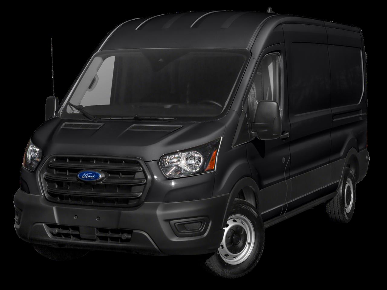 """Ford 2021 Transit Cargo Van T-150 130"""" Med Rf 8670 GVWR RWD"""