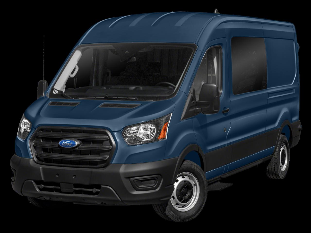 "Ford 2021 Transit Crew Van T-250 130"" Low Rf 9070 GVWR RWD"