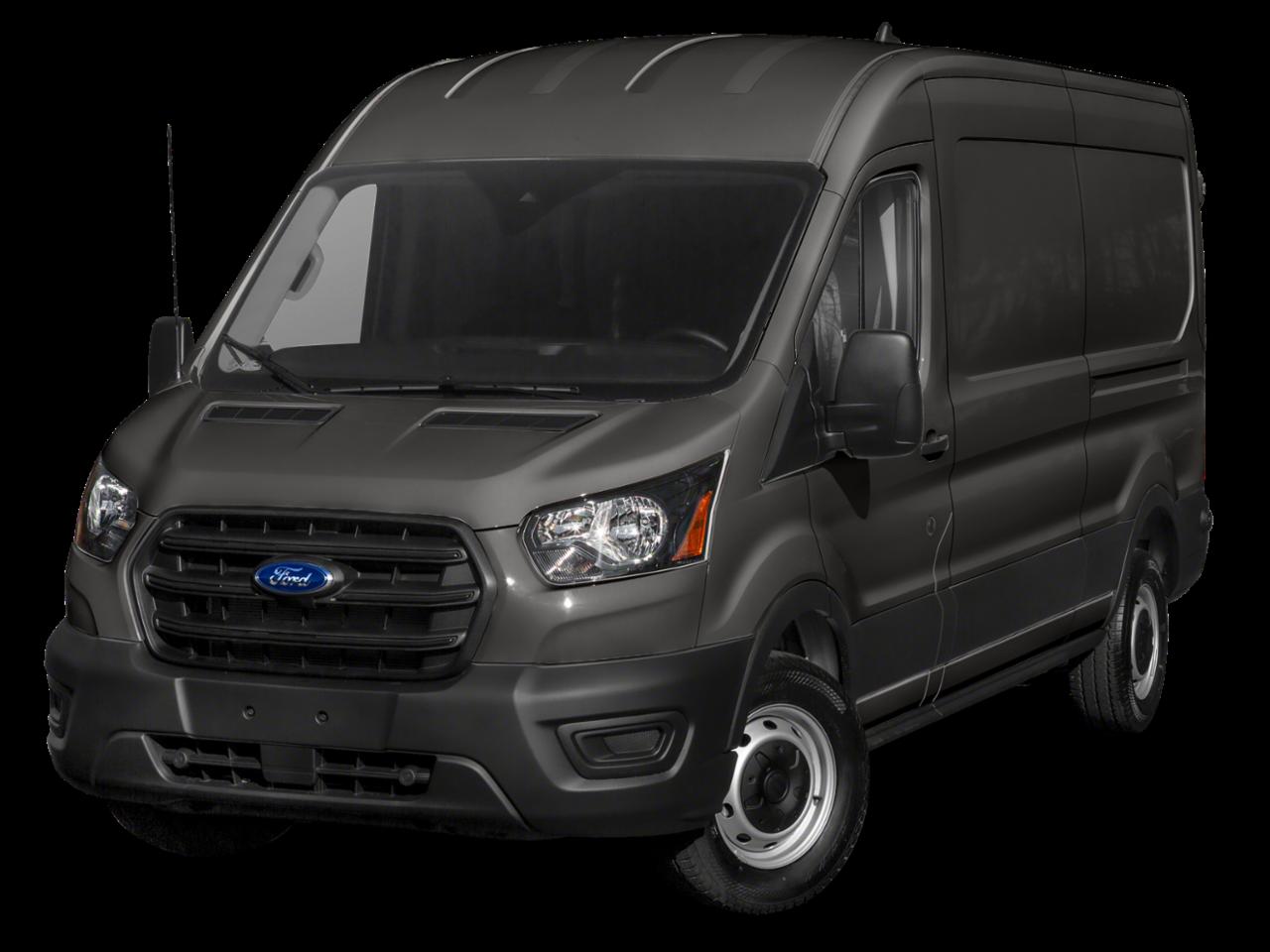"""Ford 2021 Transit Cargo Van T-350 130"""" Med Rf 9500 GVWR RWD"""