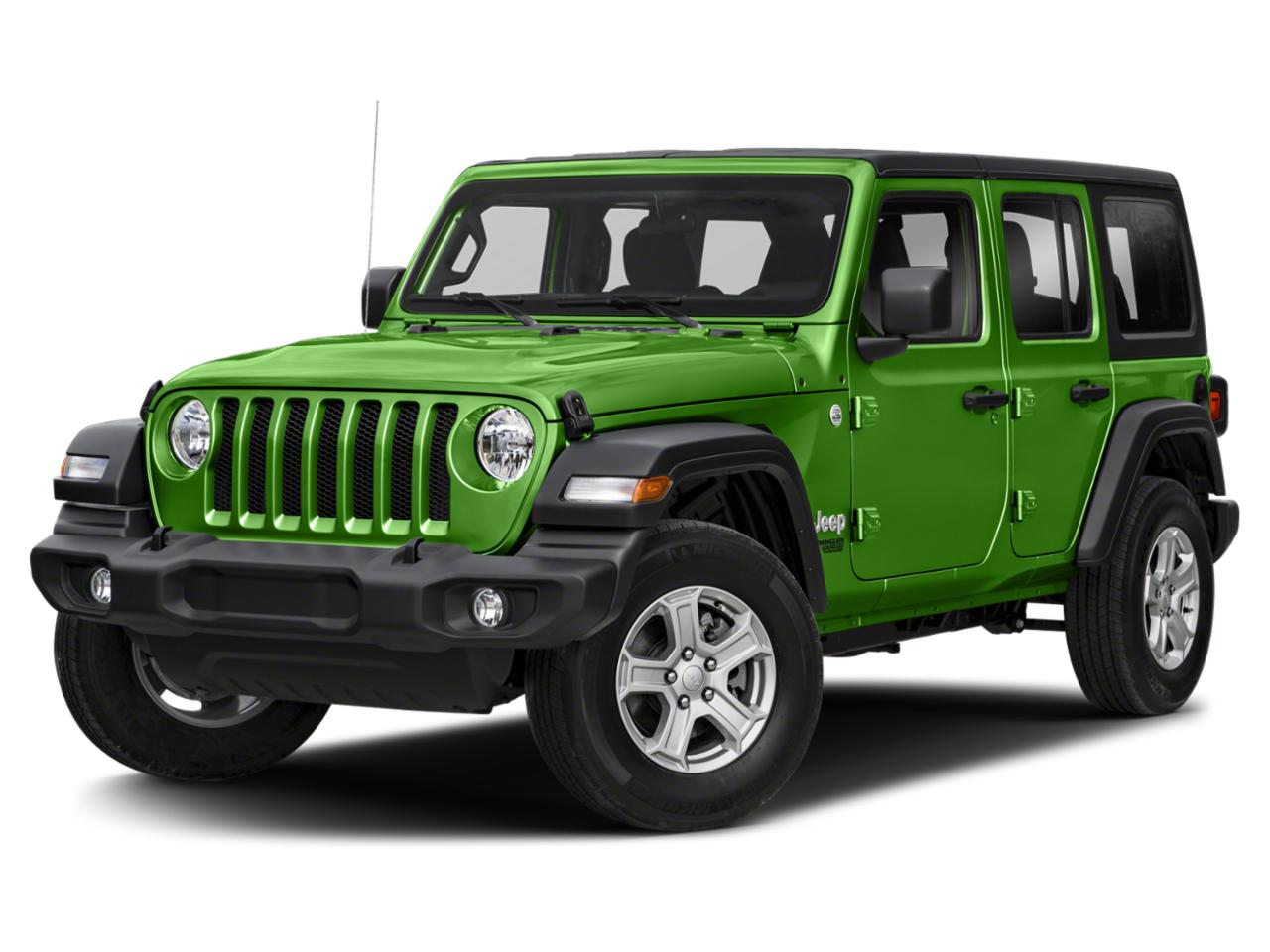 2019 Jeep Wrangler Unlimited Vehicle Photo in MEDINA, OH 44256-9631