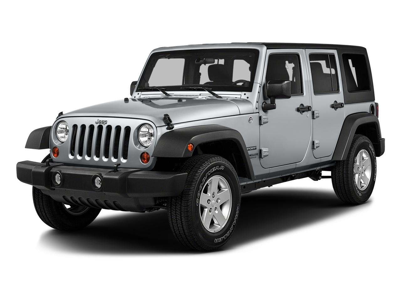 2016 Jeep Wrangler Unlimited Vehicle Photo in GREELEY, CO 80634-4125