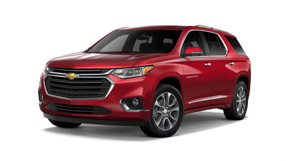 Certified 2018 Chevrolet Traverse Premier with VIN 1GNEVJKW6JJ184670 for sale in Worthington, Minnesota