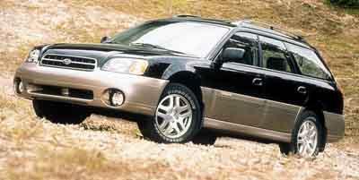 2000 Subaru Legacy Wagon Vehicle Photo in Evansville, IN 47715